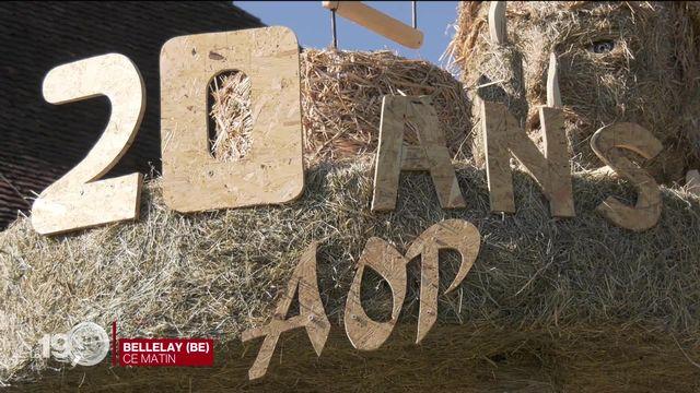 Tête de moine: 20 ans d'AOP et toujours de l'appétit ! [RTS]