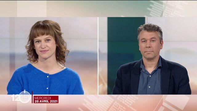 Chronique cinéma avec Séverine Graff (historienne du cinéma) et Rafael Wolf (RTS). [RTS]