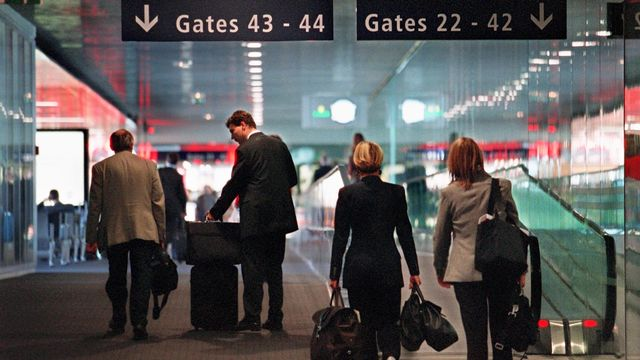 L'aéroport EuroAirport de Bâle en 2001. [Martin Ruetschi - Keystone]