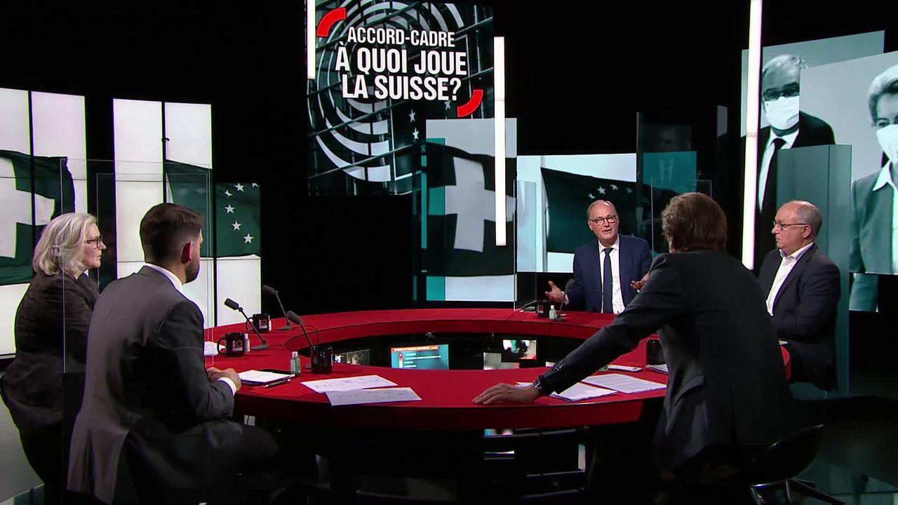 Accord-cadre, à quoi joue la Suisse? [RTS]