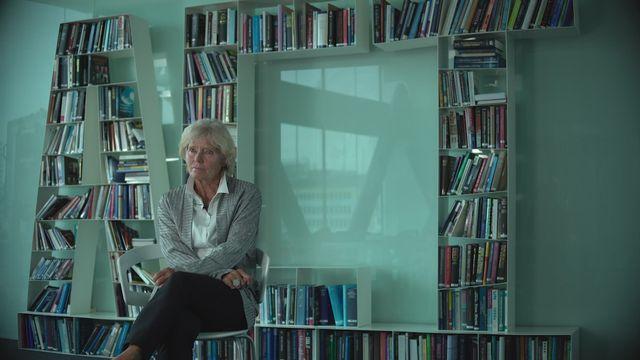 Elisabeth Decrey-Warner, fondatrice de l'Appel de Genève. [RTS]
