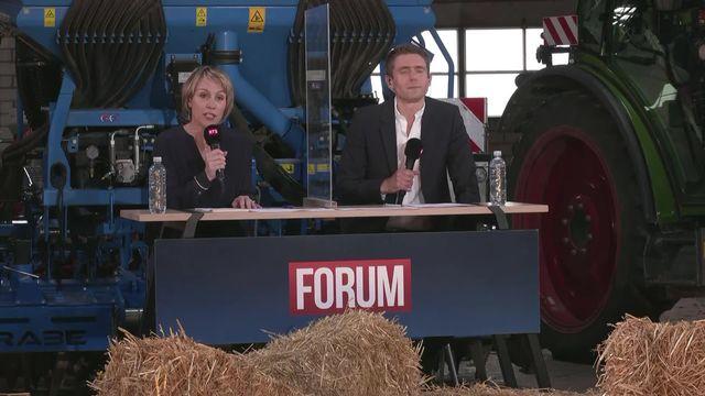 Forum (vidéo) - Présenté par Esther Coquoz et Renaud Malik [RTS]