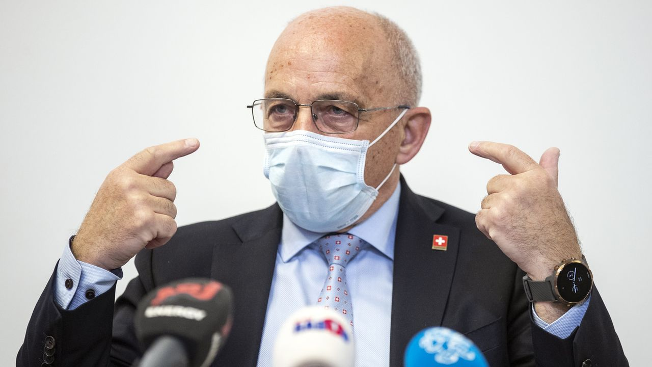 Joe Biden qualifie la Suisse de paradis fiscal, Ueli Maurer réagit calmement. [Alexandra Wey - Keystone]