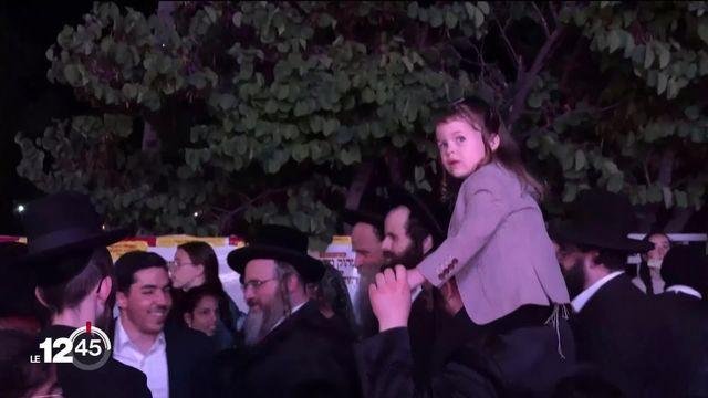 Israël: un grand pèlerinage juif tourne au cauchemar [RTS]