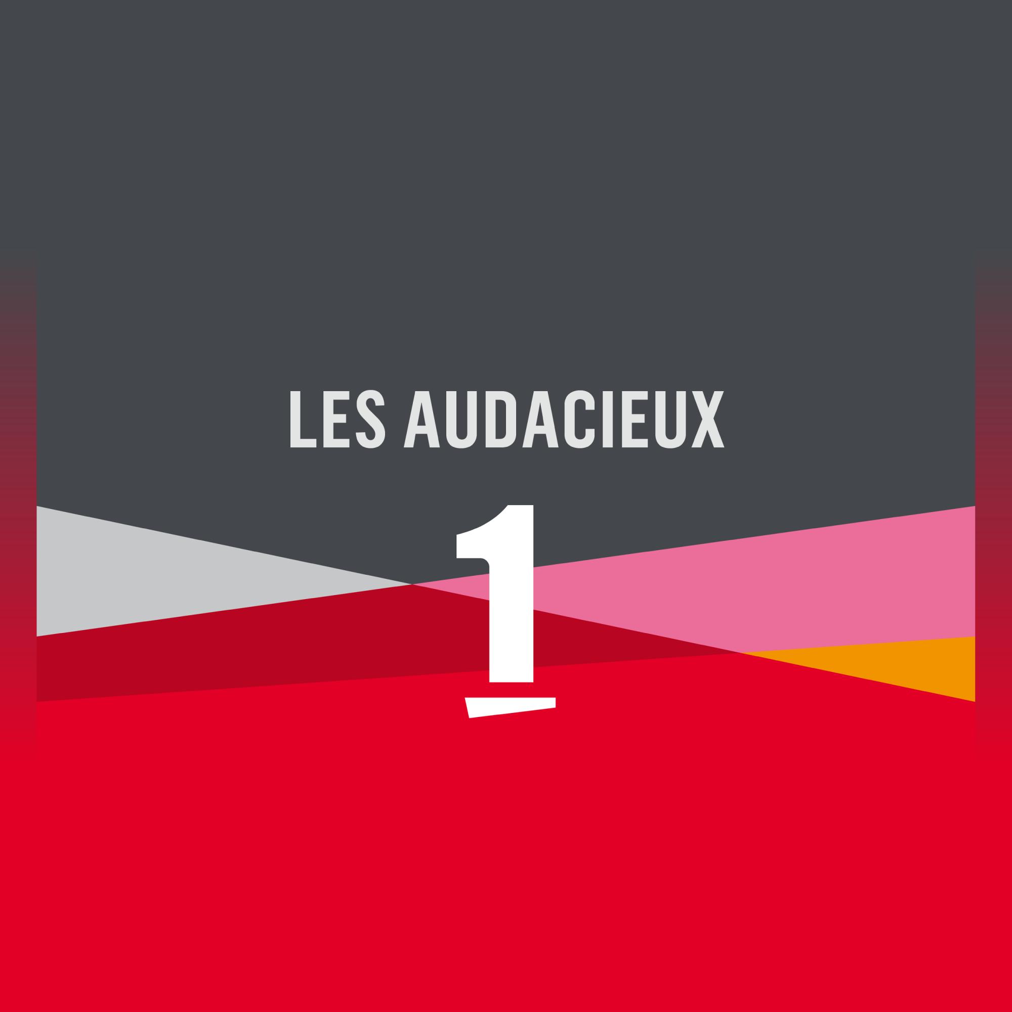 Logo Les audacieux [RTS]