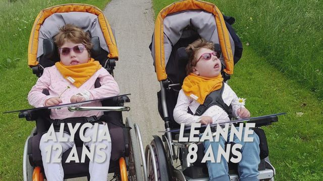 Ma maladie rare (TV) : Léanne - 8 ans et Alicia - 12 ans [RTS]