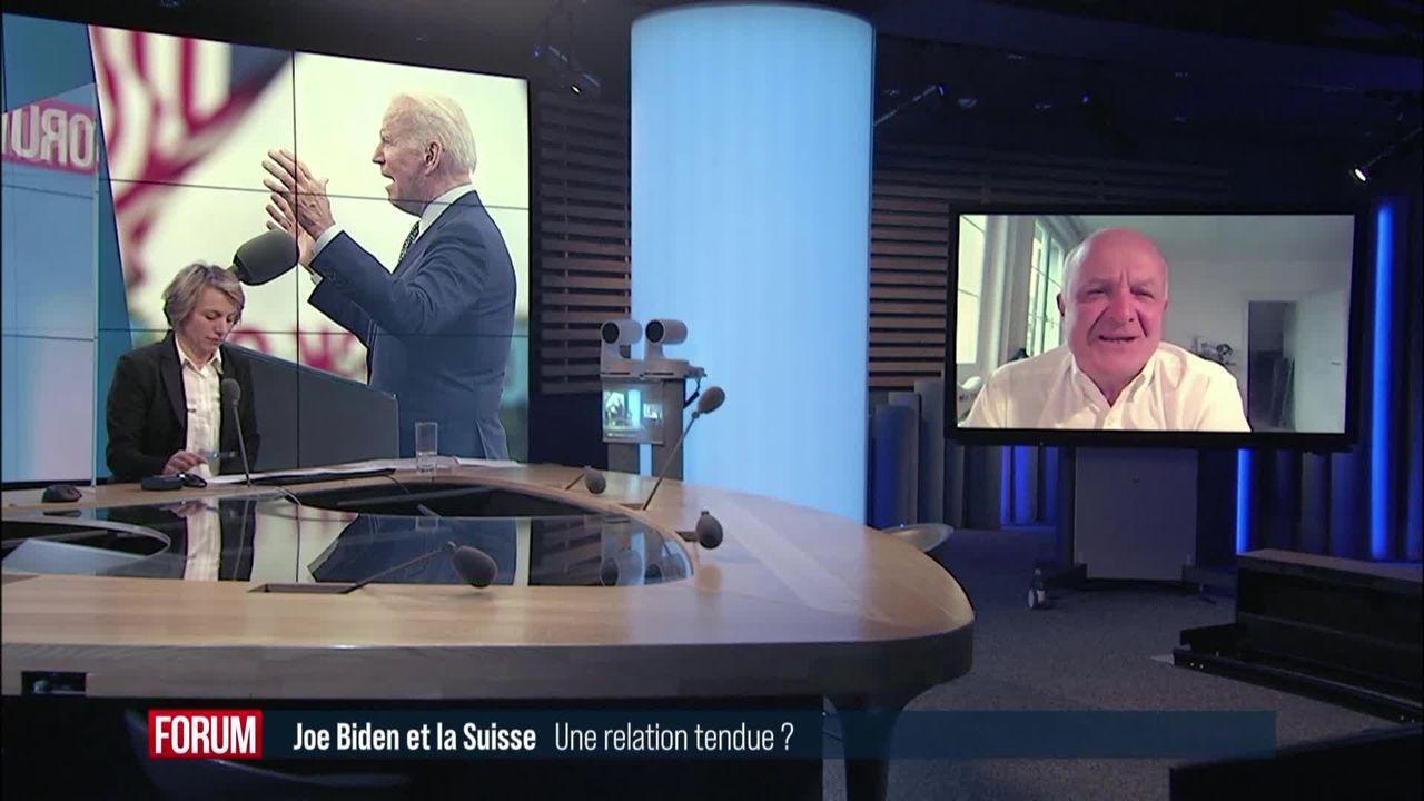Joe Biden qualifie la Suisse de paradis fiscal (vidéo) [RTS]