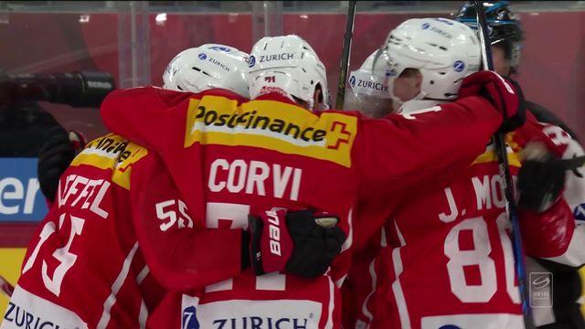 Suisse – Russie (3-1) : les Suisses s'imposent par 2 buts d'écart [RTS]