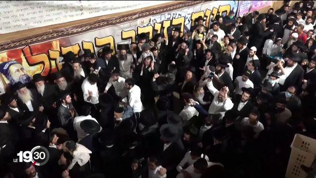 Bousculade meurtrière géante en Israël lors d'un pèlerinage juif orthodoxe au Mont Meron [RTS]