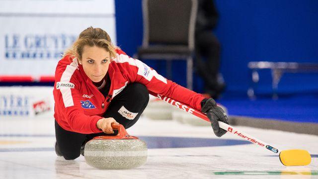 Silvana Tirinzoni et Cie ont facilement battu l'Italie à Calgary. [Steve Seixeiro - Freshfocus]