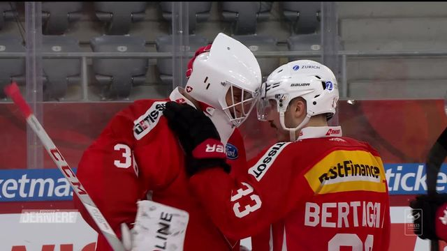 Hockey: Suisse - Russie (1-0) [RTS]