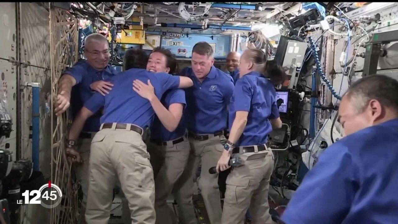 SpaceX: retour sur Terre réussi pour quatre astronautes [RTS]