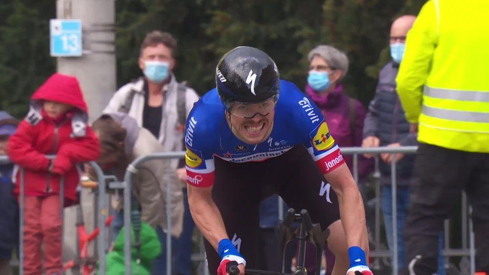 5e étape, Fribourg - Fribourg: Remi Cavagna (FRA) s'impose pour 6 secondes d'avance sur Stefan Bissegger (SUI) [RTS]