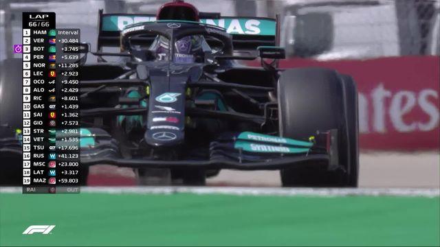 GP du Portugal (#4): Hamilton (GBR) s'impose devant  Bottas (FIN) 2e et Verstappen (NED) 3e [RTS]