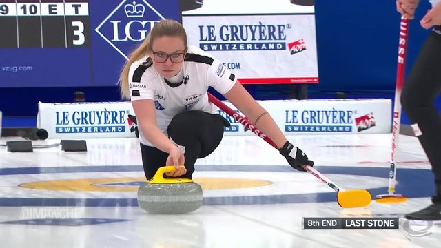Curling: Calgary (CAN), Canada – Suisse (5-8): les Suissesses s'imposent [RTS]