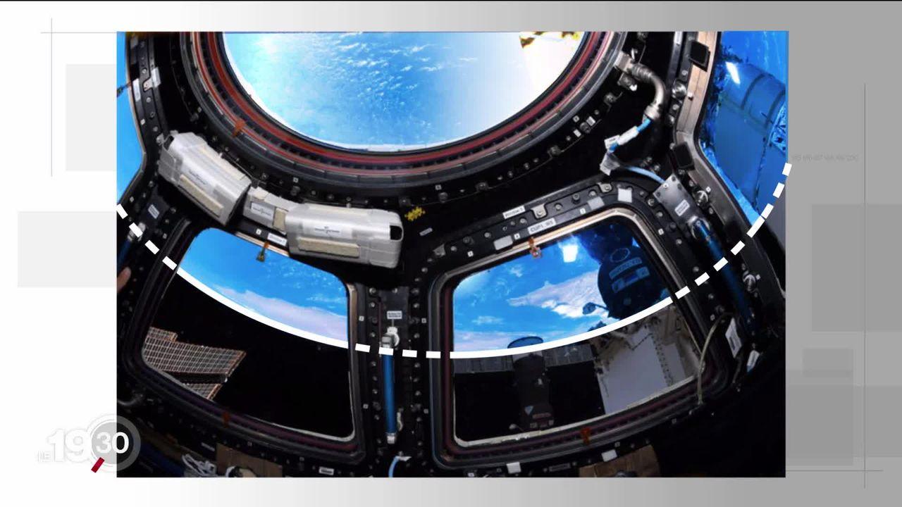 La chronique photo: Thomas Pesquet et ses photos de la Terre vue de l'espace [RTS]