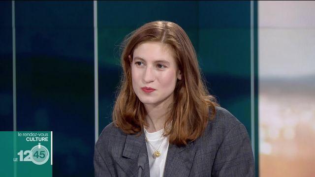 Rendez-vous culture: Agathe Bonitzer, comédienne française. [RTS]