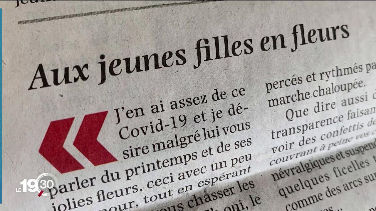 Une lettre de lecteur publiée hier par le quotidien fribourgeois La Liberté crée la controverse. [RTS]
