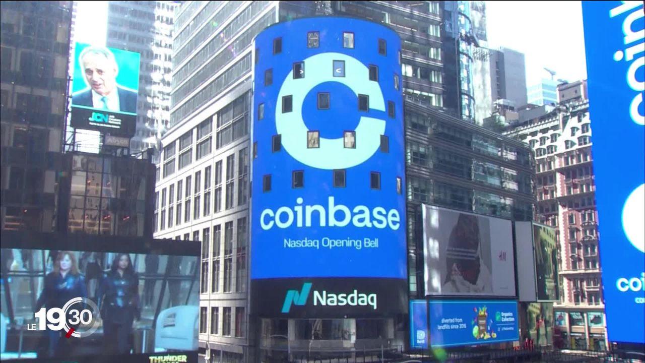 Coinbase est la première entreprise consacrée aux cryptomonnaies à entrer à Wall Street. [RTS]