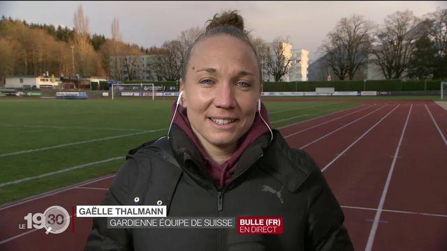 """Gaëlle Thalmann: """"J'ai suivi mon instinct et j'ai eu un petit peu de chance."""" [RTS]"""