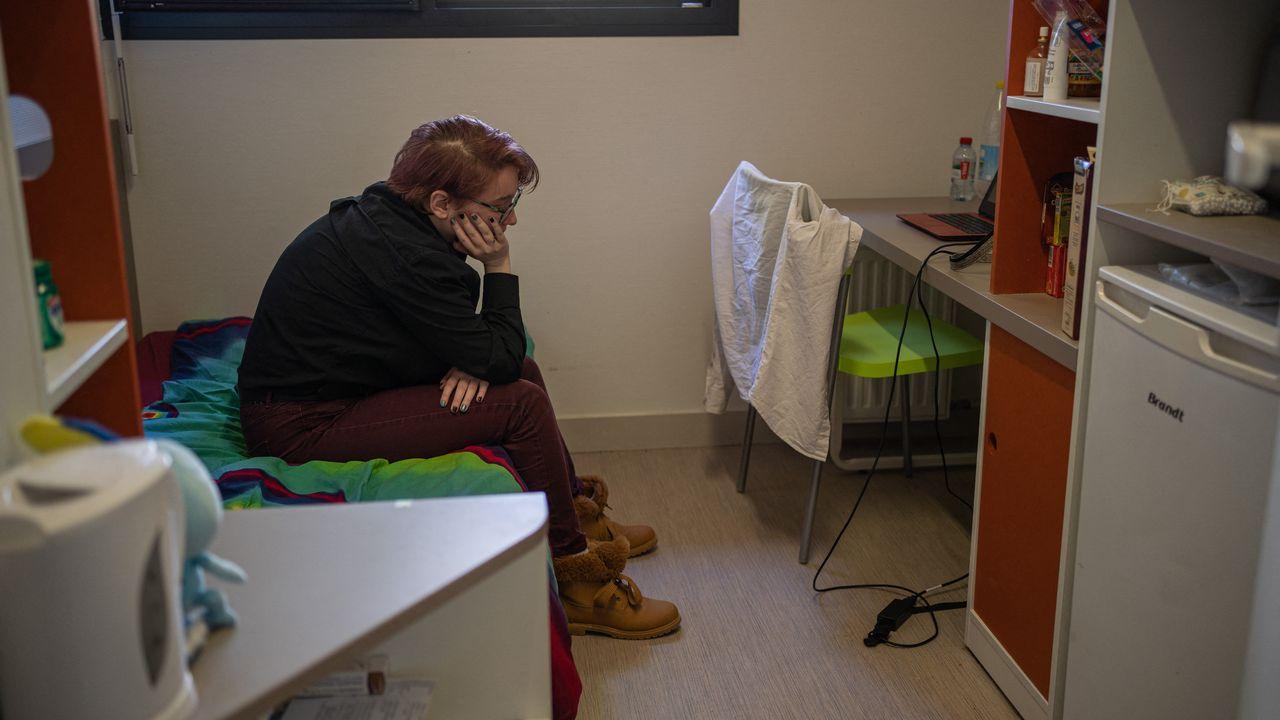Un tiers des enfants et des adolescents ont eu problèmes de santé mentale pendant le semi-confinement du printemps 2020 . [Jeanne Mercier / Hans Lucas /  - AFP]