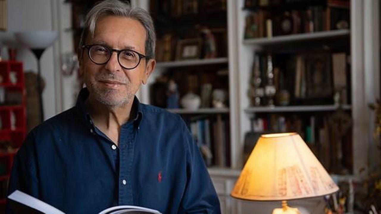 """Alain Vircondelet, auteur de """"De l'or dans la nuit de Vienne - selon Klimt"""", paru aux éditions Ateliers Henry Dougier. Francois Blazquez DR [Francois Blazquez - DR]"""