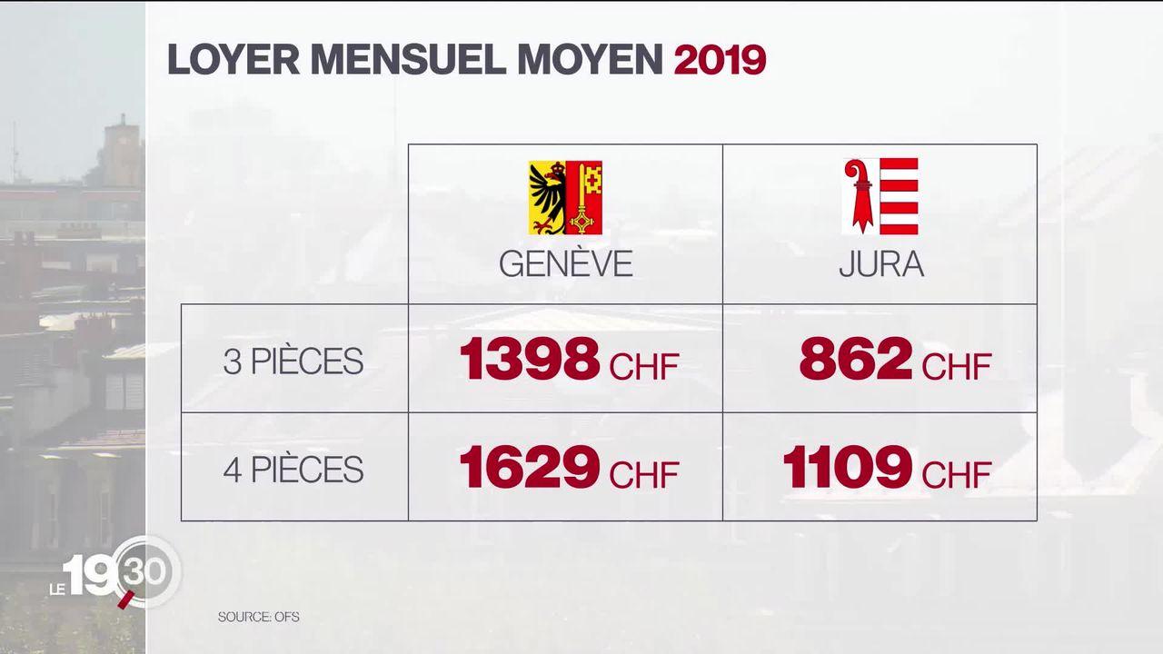 Immobilier: entre le Jura et Genève, le grand écart de l'offre et des prix [RTS]