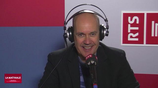 L'invité de La Matinale (vidéo) - Gary Sheehan, entraîneur du HC Ajoie [RTS]