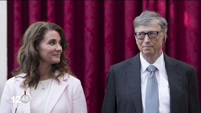 Bill et Melinda Gates, l'un des couples les plus riches de la planète, annoncent leur divorce [RTS]