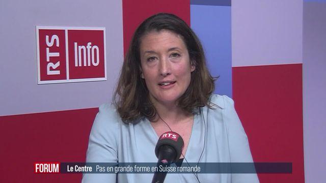 Le Centre peine à convaincre en Suisse romande (vidéo) [RTS]