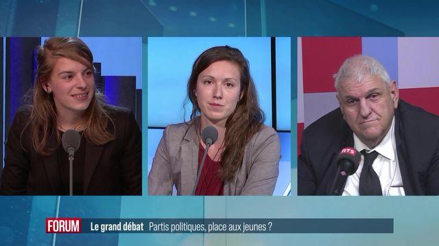 Le grand débat (vidéo) - Partis politiques, place aux jeunes? [RTS]