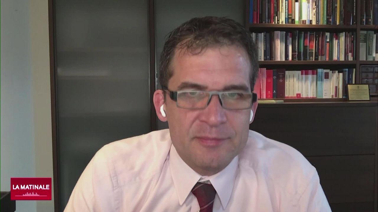 L'invité de La Matinale (vidéo) - Nils Mezler, rapporteur spécial de l'ONU sur la torture [RTS]