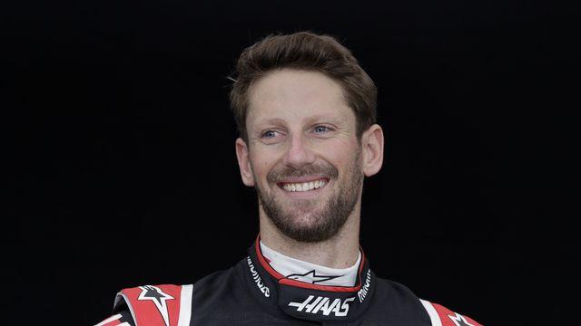 Grosjean retrouvera le volant d'une Formule 1, sept mois après son terrible accident. [Rick Rycroft - Keystone]