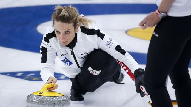 Silvana Tirinzoni et Cie continuent d'impressionner. [(Jeff McIntosh/The Canadian Press via AP - Keystone]