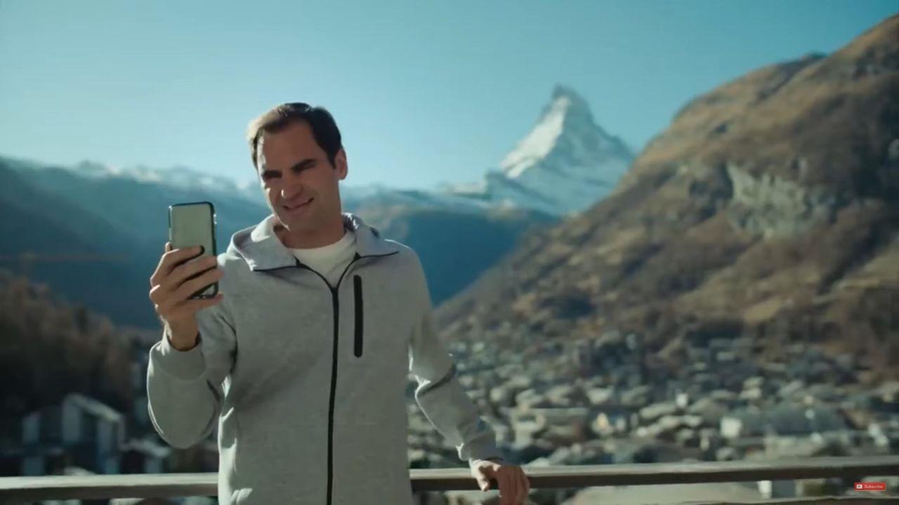 Roger Federer et Robert de Niro réunis dans une publicité pour le tourisme en Suisse. [Suisse Tourisme]