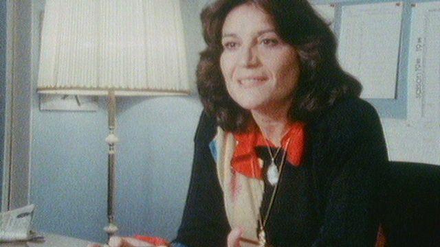 Renée Auphan, directrice de l'Opéra de Lausanne, en 1985 [RTS]