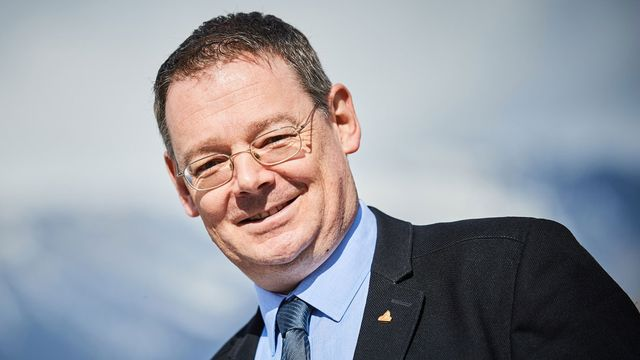 Franz Ruppen, conseiller d'Etat valaisan UDC. [Olivier Maire - Keystone]