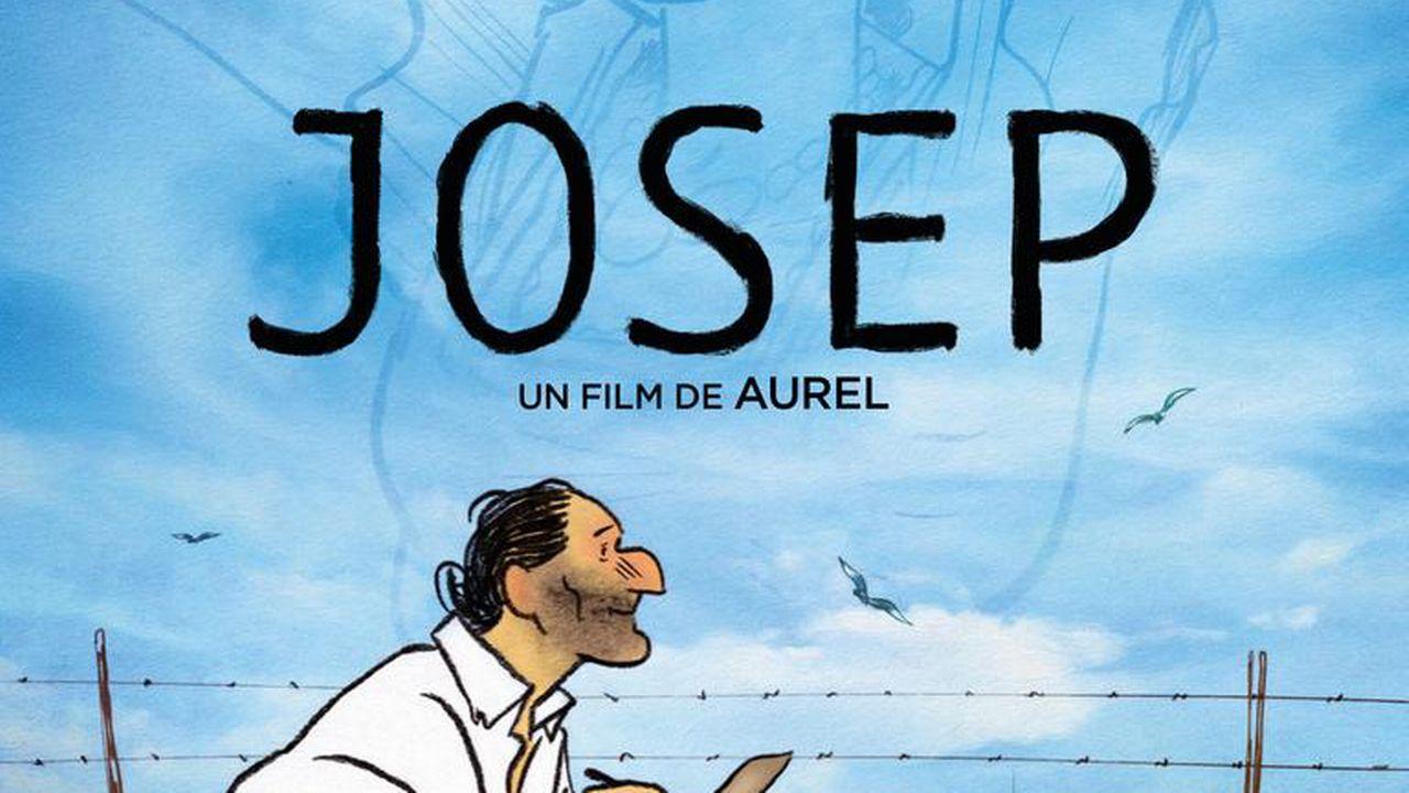 """L'affiche de """"Josep"""", de Aurel. [Les Films d'Ici Méditerranée]"""