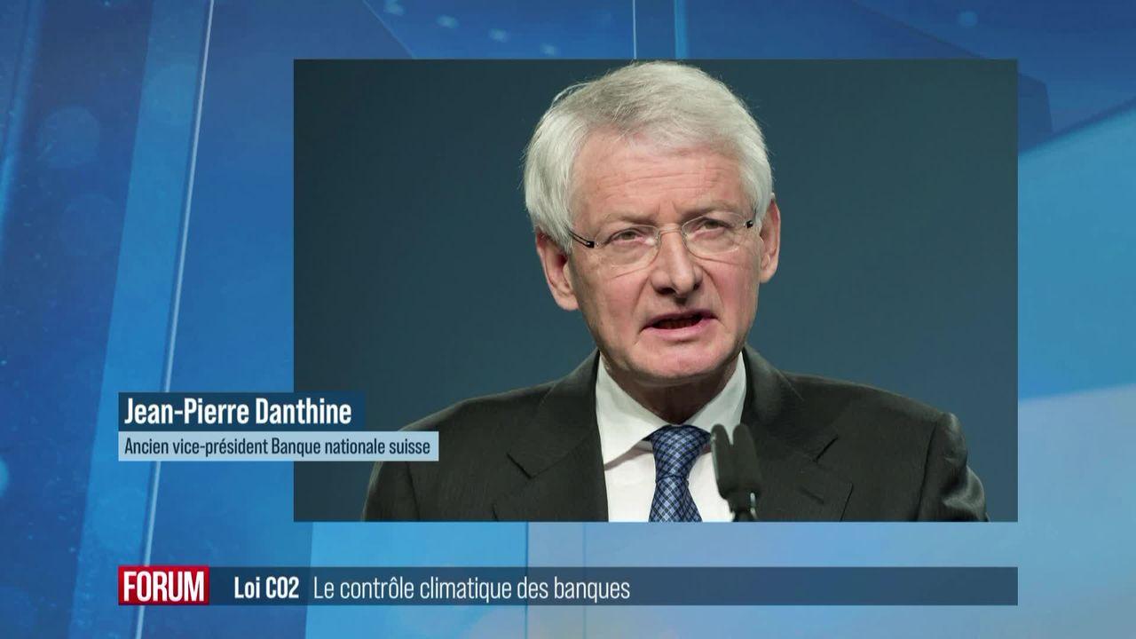 Votation sur la loi CO2 : le contrôle environnemental des banques [RTS]