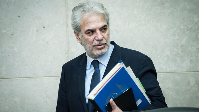 Le commissaire européen à l'Aide humanitaire Christos Stylianides. [Wiktor Dabkowski  - AFP]