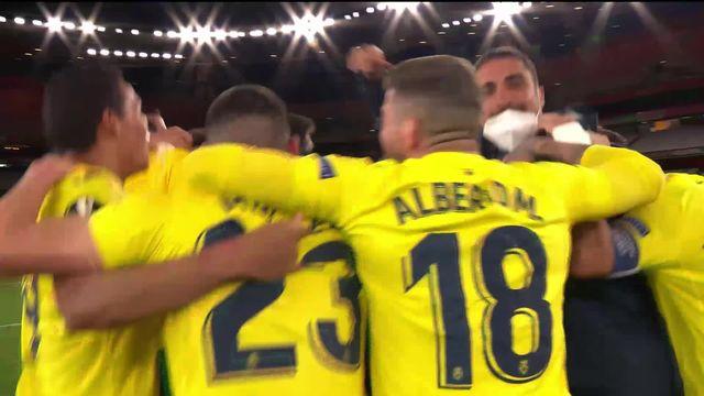 1-2 retour, Arsenal - Villarreal (0-0): première finale européenne pour Villarreal [RTS]