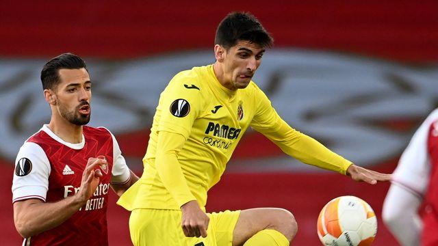 Gerard Moreno, le joueur de Villarreal, file en finale. [Andy Rain - AP]