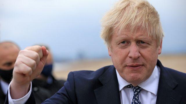 les conservateurs de Boris Johnson s'attendent à sortir renforcés des élections locales. [Lindsey Parnaby - Reuters]