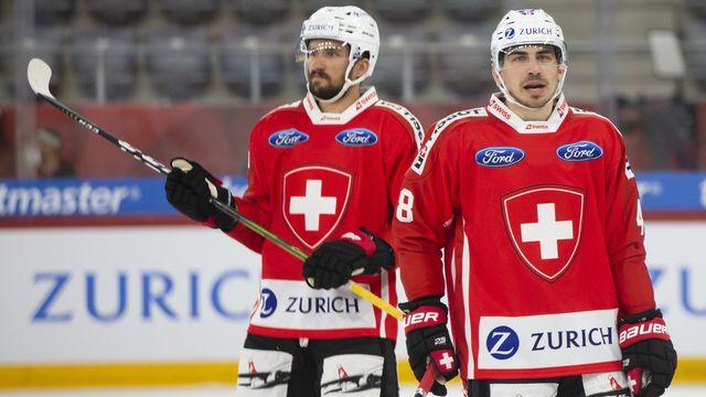 Déception pour l'équipe de Suisse qui voit sa préparation pour le Mondial bien perturbée. [Peter Klaunzer - Keystone]