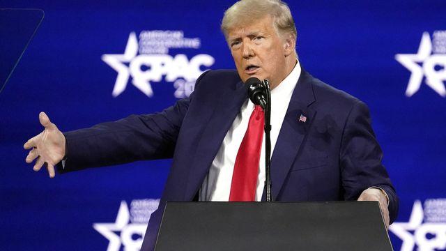 Fin de l'enquête sur l'achat du silence de Stormy Daniels par Donald Trump. [John Raoux - Keystone]