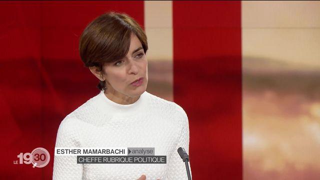 Esther Mamarbachi commente les résultats de ce premier sondage SSR [RTS]