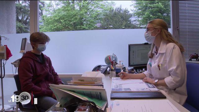 A Genève, une consultation pour le covid long vient d'ouvrir en pédiatrie. [RTS]