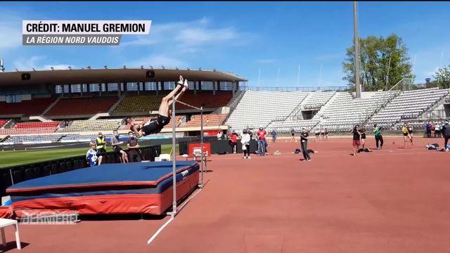 Athlétisme: Record de Suisse pour Loïc Gasch [RTS]