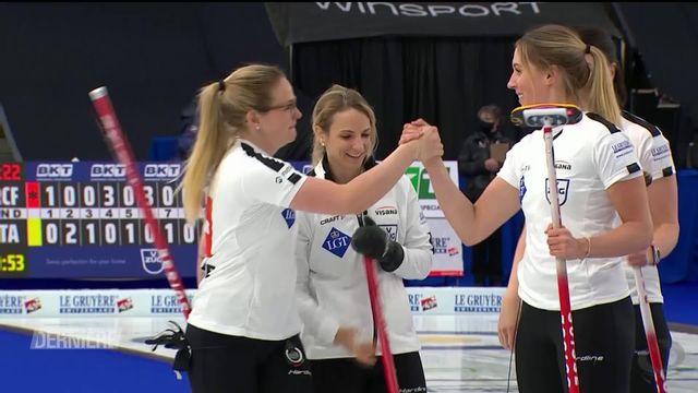Curling: Parcours mémorable des Suissesses [RTS]