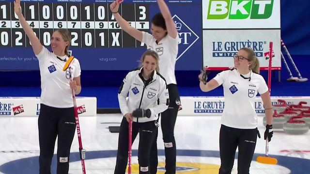 Calgary (CAN), 1-2 dames: Etats-Unis – Suisse (3-7): les Suissesses se hissent en finale [RTS]